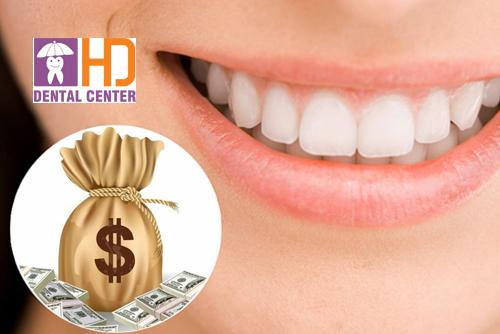 Bọc răng sứ bao nhiêu tiền 1 cái? Bảng giá bọc răng sứ tại các nha khoa TP.HCM