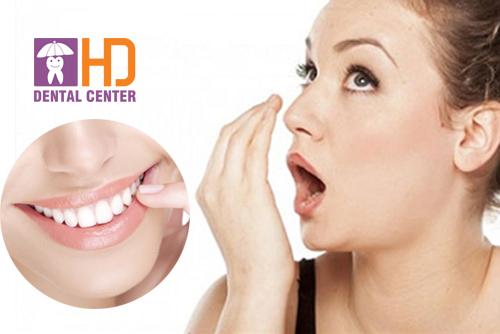 Sau khi bọc răng sứ có hôi miệng không?